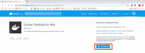 Docker for Mac のダウンロード