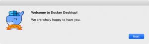 Docker.appをインストール